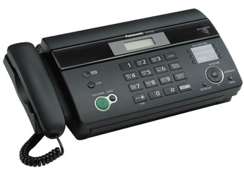 Инструкция к факсу panasonic kx ft982
