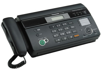 Инструкция факс panasonic kx ft988
